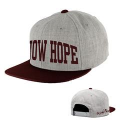 Know Hope Maroon/Grey Snapback