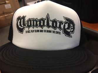 Logo White/Black Trucker Hat