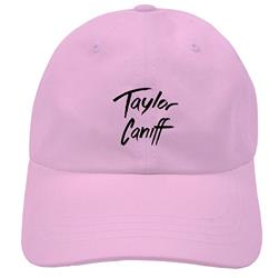 Logo Pink Polo Hat
