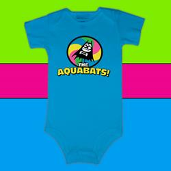 Wheel Aqua Infant Onesie