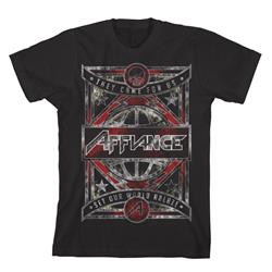World Ablaze Black T-Shirt