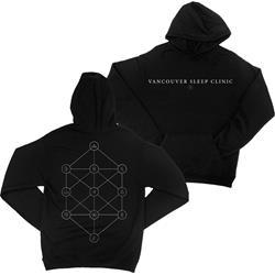 Symbol Black Pullover Hooded Sweatshirt