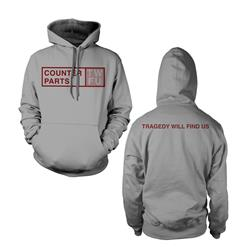 TWFU Grey Hooded Sweatshirt