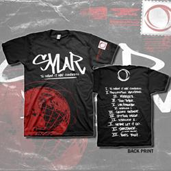 Sylar - Globe Black T-Shirt