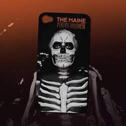 The Maine Skelton Black Iphone 4/4S Case