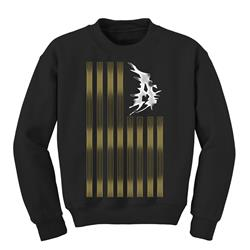 A Flag Black Crewneck