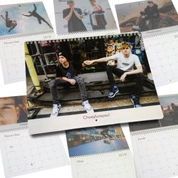 2018 Photo Calendar w/ Rare Pics and Birthdays