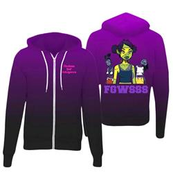 MSI LIMITED: Premium Blend Purple FGWSSS Hoodie