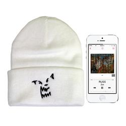 Wolf White Beanie + Zoo Digital Album