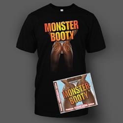 Monster Booty CD & T-Shirt Bundle