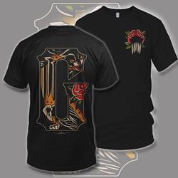 Tattoo Flash Black T-Shirt