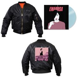 Peach Club Bomber Jacket + Vinyl