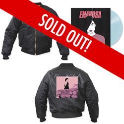 Peach Club Bomber Jacket + Vinyl
