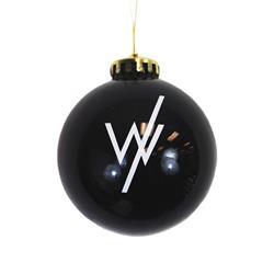 Logo Black Ornament
