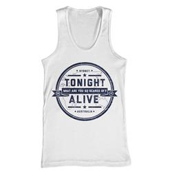 Crest White Tank Top