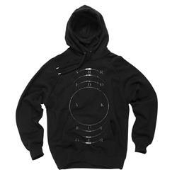 Fader Black Hooded Sweatshirt