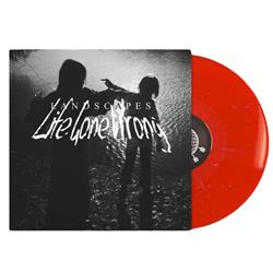 Life Gone Wrong Red W/Pink & White Splatter LP