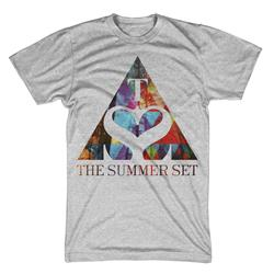 Triangle Logo Heather Grey