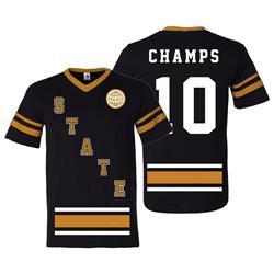 Slapshot Black/Gold Jersey