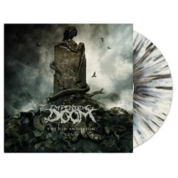 The Sin And Doom VOL. II Clear W/ Black/Grey/Dark Blue Splatter