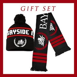 Holiday Scarf & Winter Beanie Gift Set