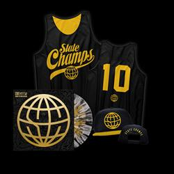 State Champs - LP/Basketball Jersey/Hat Bundle