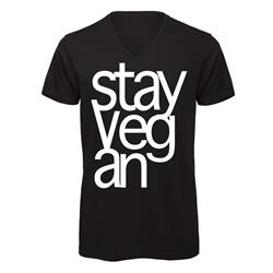 Stay Vegan Black