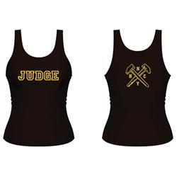 Hammers Black Girl's Tank Top