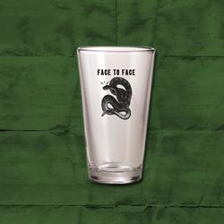 Snake Pint Glass