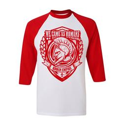 Seal White/Red Baseball Shirt Sale! Final Print!