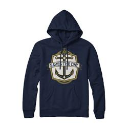 Anchor Navy Hooded Sweatshirt