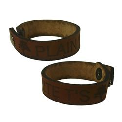 Trees Leather Bracelet