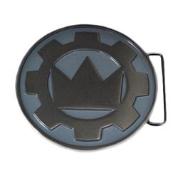 Logo Silver Belt Buckle