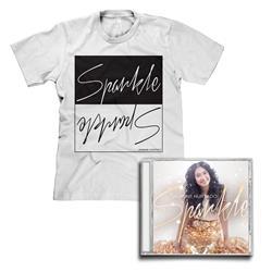 Jasmine Hurtado - Sparkle CD & T-Shirt Bundle