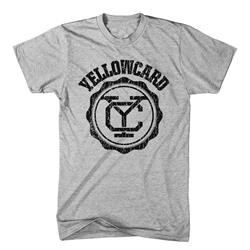 Yellowcard - Black Logo Grey