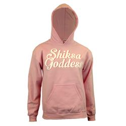 Shiksa Goddess Pink Hooded Pullover