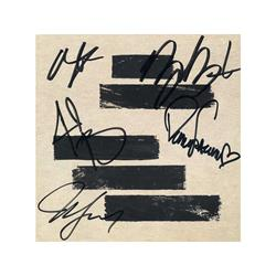 Black Lines Signed Booklet