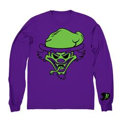 30th Anniversary Riddle Box Purple Crewneck