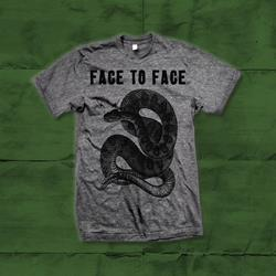 Snake Heather Grey T-Shirt