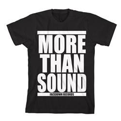 More Than Sound White Print Black *Sale! Final Print* Final Print! $6 Sale