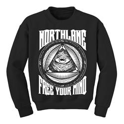 Free Your Mind Black Crew Neck
