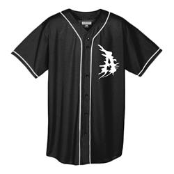 A Logo Black Baseball Jersey