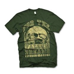 Skull Army Green