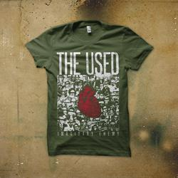 Imaginary Enemy Military Green T-Shirt
