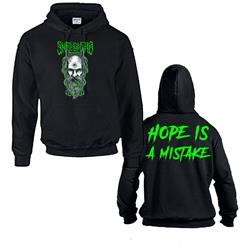 Hope Is A Mistake Black Hoodie