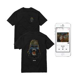 Gorilla T-Shirt + Digital Album