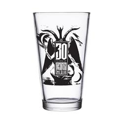 30Th Anniversary  Pint Glass
