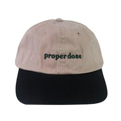 Proper Dose Khaki/Navy Dad Hat