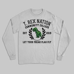 T-Rex Nation Heather Grey