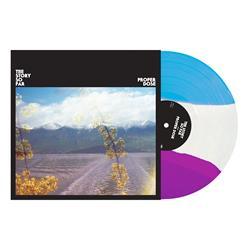 Proper Dose Deep Purple/White/Cyan Blue